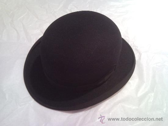 03c4f205b65d1 Antiguo sombrero bombin - sombrero hongo - años - Vendido en Subasta ...