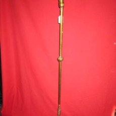 Antigüedades: LAMPARA EN BRONCE CON BONITO PIE.. Lote 30309651