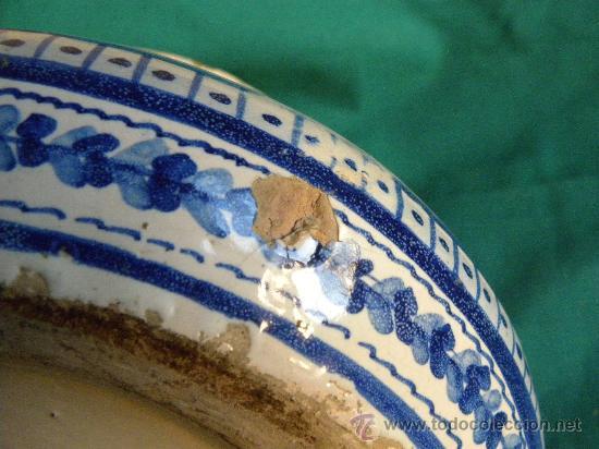 Antigüedades: Escupidera cerámca Triana ( Sevilla) con animales y arquitectura prnc. S. XX - Foto 7 - 30311624