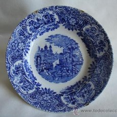 Antigüedades: PLATO DE VAJILLA - CHINA-OPACA - MCMXXV. Lote 30333618