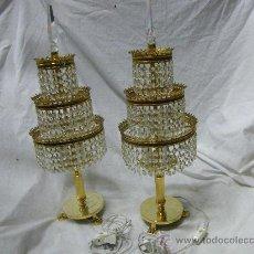 Antigüedades: PAREJA DE LAMPARITAS DE SALON. Lote 30371633