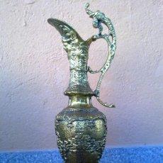 Antigüedades: PRECIOSISIMO JARRON DE BRONCE. . Lote 30398409