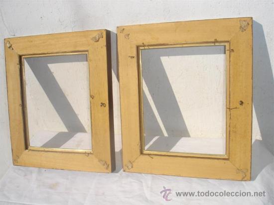 Antigüedades: pareja de marcos - Foto 2 - 30402398