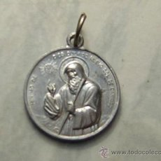 Antigüedades: PEQUEÑA MEDALLA RELIGIOSA: MINIMO DE DIOS QUERIDO NUEVO SOL DE CARIDAD. CHARITAS.. Lote 30405357