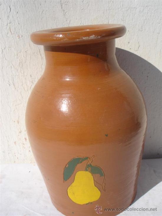 CANTARO BARRO (Antigüedades - Porcelanas y Cerámicas - Otras)