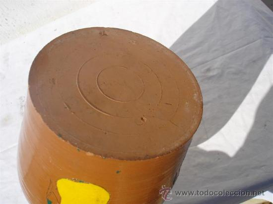Antigüedades: cantaro barro - Foto 2 - 30414145