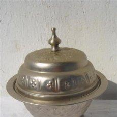 Antigüedades: CANTRO DE MESA DE ALPACAR ARABE. Lote 30414199