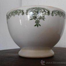 Antigüedades: TAZON, BOL DE PORCELANA, SEGOVIA GV. Lote 30442324