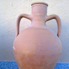 Antigüedades: PRECIOSO CANTARO DE BARRO.. Lote 30447774