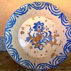 Antigüedades: ANTIGUA FUENTE O LEBRILLO DE FAJALAUZA.. Lote 30447790