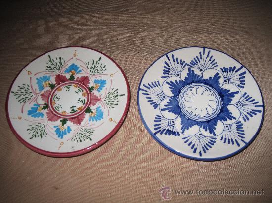 PLATITOS DE MANISES (Antigüedades - Porcelanas y Cerámicas - Manises)