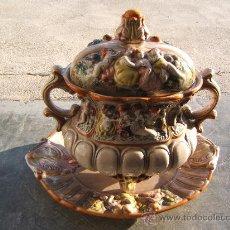 Antigüedades: SOPERA CERAMICA MARSELLA. Lote 30518841