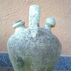 Antigüedades: ANTIGUO BOTIJO O CANTARA DE AGUA DE BARRO.. Lote 138168017