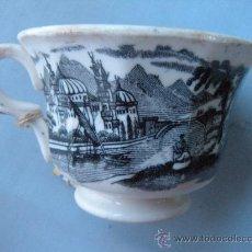 Antigüedades: ANTIGUA TAZA DE CAFÉ PICKMAN CARTUJA. Lote 30554808