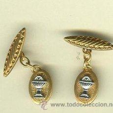 Antigüedades: GEMELOS DE PRIMERA COMUNION. Lote 30567782