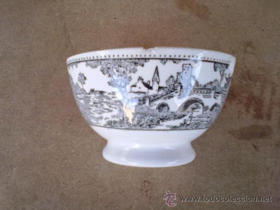 TAZON DE PORCELANA (Antigüedades - Porcelanas y Cerámicas - Otras)