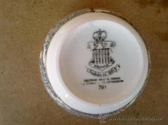 Antigüedades: tazon de porcelana - Foto 3 - 30585841