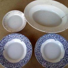 Antigüedades - platos porcelana pickman cartuja - 30585880