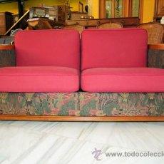 Antigüedades: SILLÓN EN CEREZO REF.5060. Lote 30618010