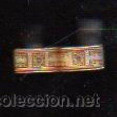 Antigüedades: PAR DE GEMELOS ANTIGUOS CON FORMA REACTANGULAR Y DIBUJOS ABSTRACTOS NEGRO SOBRE ORO, MUY BONITOS. Lote 30672621