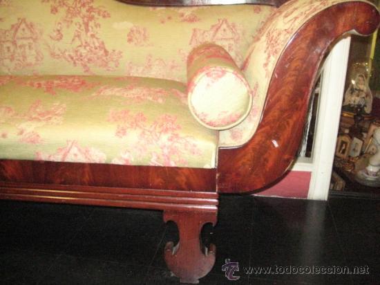 Antigüedades: Sofas imperio de caoba circa 1840 - Foto 5 - 30650805