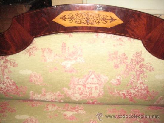 Antigüedades: Sofas imperio de caoba circa 1840 - Foto 4 - 30650805
