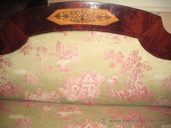 Antigüedades: Sofas imperio de caoba circa 1840 - Foto 11 - 30650805