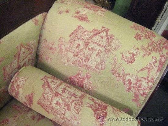 Antigüedades: Sofas imperio de caoba circa 1840 - Foto 7 - 30650805