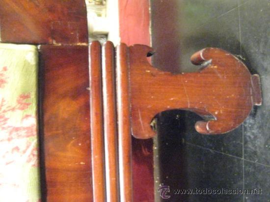 Antigüedades: Sofas imperio de caoba circa 1840 - Foto 12 - 30650805
