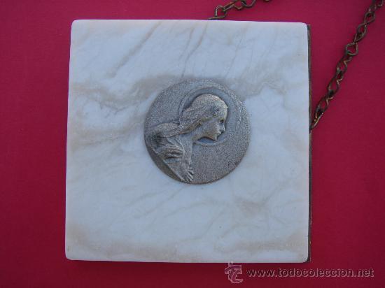 Antigüedades: DETALLE DE LA PLANCHA DE MÁRMOL - Foto 2 - 30669758