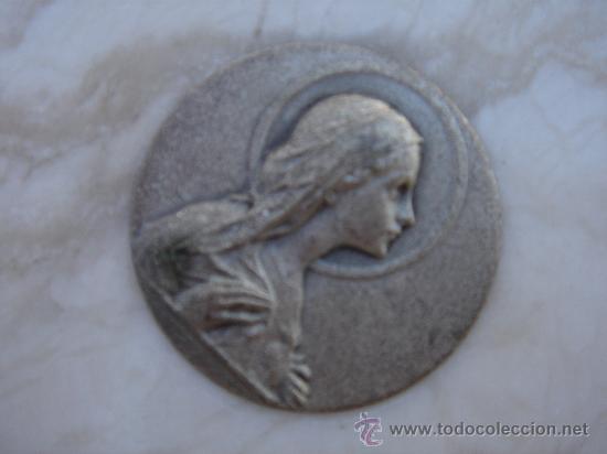 Antigüedades: DETALLE -CORAZÓN DE MARÍA- - Foto 3 - 30669758
