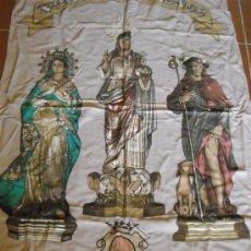 Antigüedades: LOTE DE DOS PIEZAS RELIGIOSAS. Lote 30675238