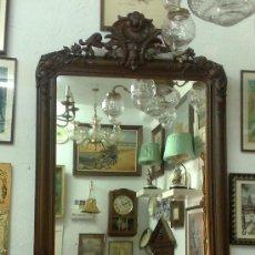 Antigüedades: SIGLO XIX.- GRAN ESPEJO ISABELINO.. Lote 30696544