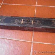 Antigüedades: ANTIGUA CAJA DE ABANICO.. Lote 30702771