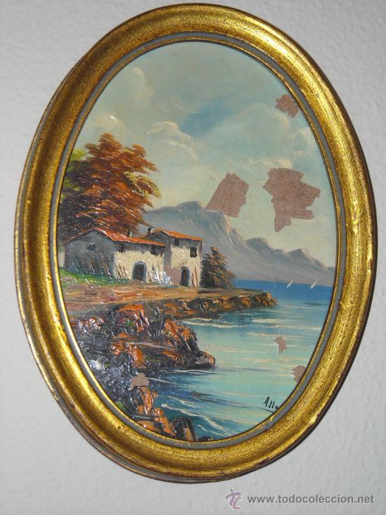 Marco o cuadro dorado de madera para acuarela comprar - Pintura dorada para madera ...