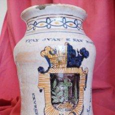 Antigüedades: TALAVERA ALBARELO. Lote 30709629