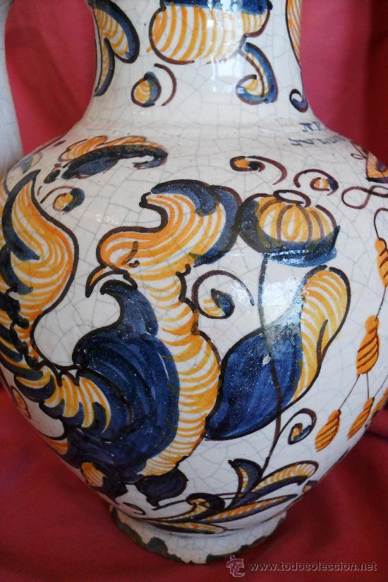 Antigüedades: TALAVERA JARRA DE PRIOR SIGLO XX - Foto 4 - 30710137
