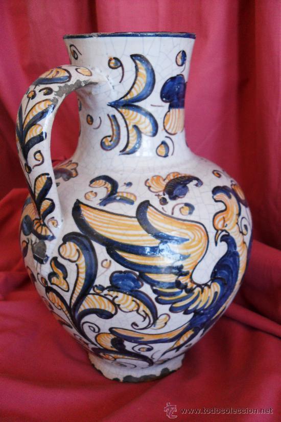 Antigüedades: TALAVERA JARRA DE PRIOR SIGLO XX - Foto 2 - 30710137