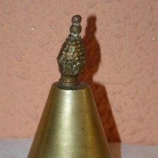 Antigüedades: ANTIGUA CAMPANA DE SERVICIO-BRONCE. Lote 30714808