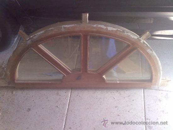Arco o medio punto rebajado de madera con crist comprar - Arcos de madera para puertas ...