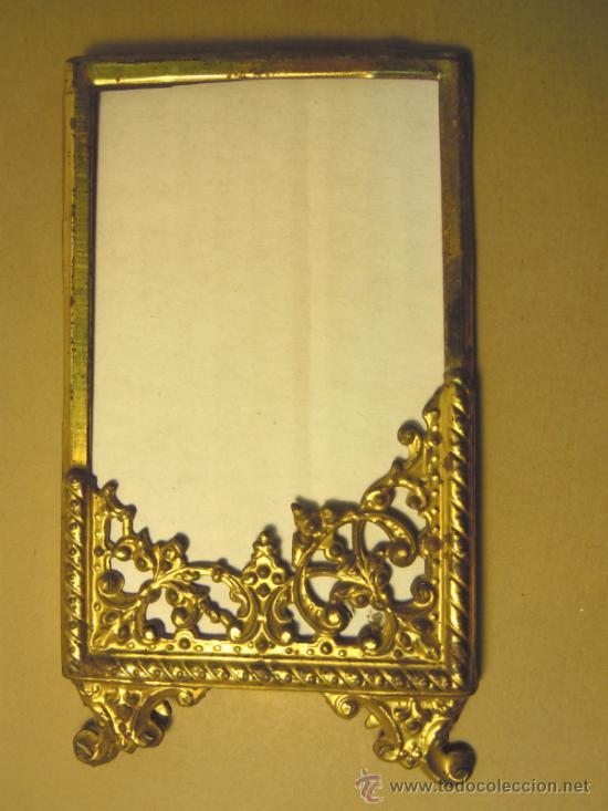 pequeño marco de hojalata dorada años 20 - Comprar Marcos Antiguos ...