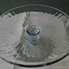 Antigüedades: ANTIGUO CENTRO DE VIDRIO SOPLADO. Lote 30720652