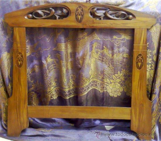 Art nouveau antiguo marco para espejo modern comprar - Espejos antiguos de pared ...