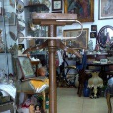 Antigüedades: GALAN DE NOCHE EN MADERA S. XIX-XX. Lote 27795116