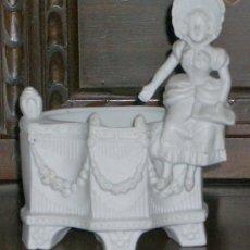 Antigüedades: SENSACIONAL BISCUIT BLANCO. Lote 30777230