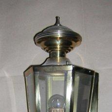 Antigüedades: ANTIGUO APLIQUE PARED LATON . Lote 30783119