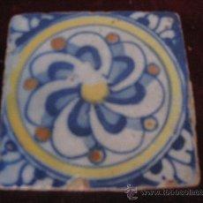 Antigüedades: AZULEJO TOLEDO / TALAVERA ANTIGUO EN TECNICA PINTADA. RENACIMIENTO. FINALES. S/ XVI. Lote 30785854