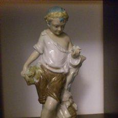 Antigüedades: ANTIGUA FIGURA DEL PRESTIGIOSO ESCULTOR JESÚS ANTONIO PEYRÓ, FIRMADA .. Lote 30790208