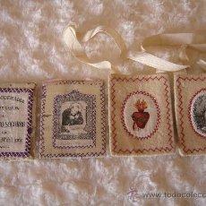Antigüedades: 2 ANTIGUOS ESCAPULARIOS GRANDES.. Lote 30832878