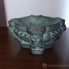 Antigüedades: MAGNIFICO CENICERO DECORACIÓN PARTENON. Lote 30836809
